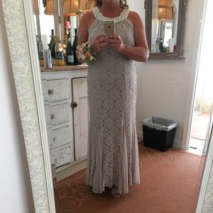 R & M Richards Lace gown / mother of the bride